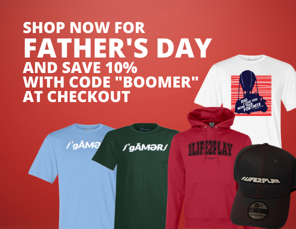 - SHOP NOW FOR FATHERS DAY - Shop 1Life2Play