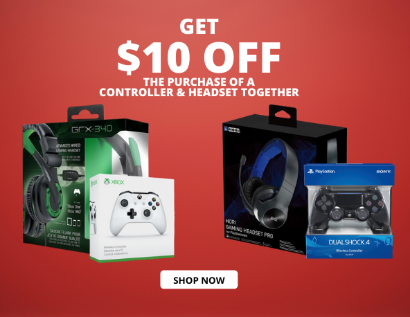 - get 10 OFF the purchase of a controller headset together - Shop 1Life2Play