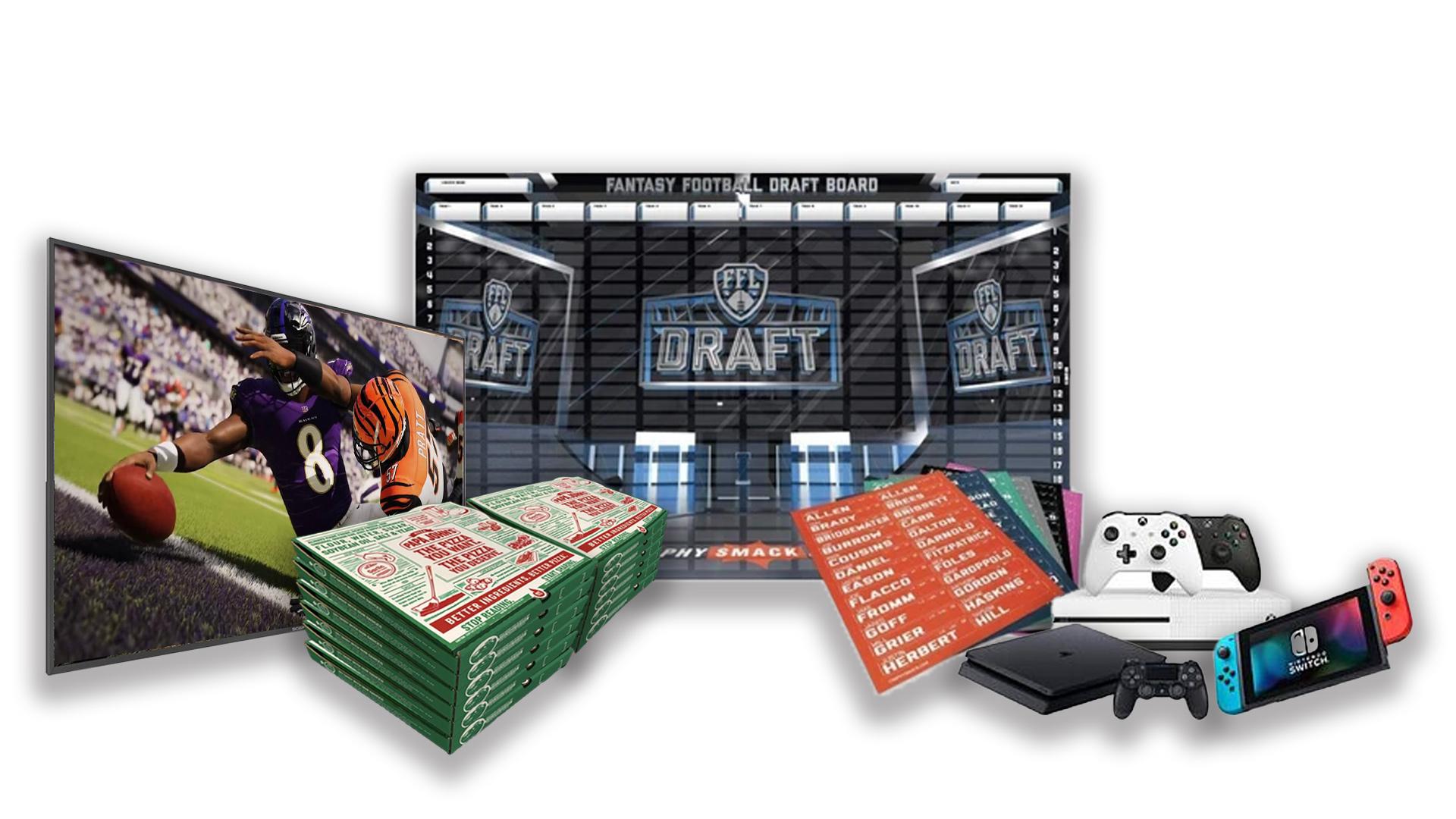 - FFDraft Items - Fantasy Football Draft Parties at 1Life2Play