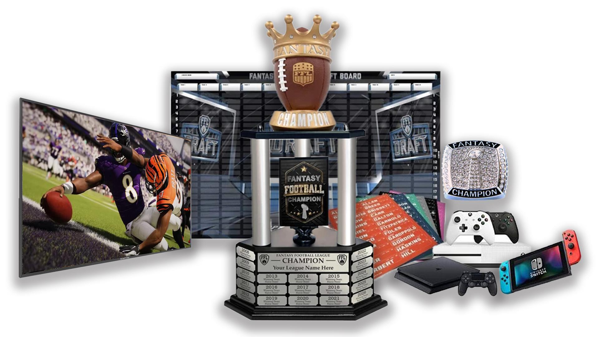 - FFDraft Trophy 2 - Fantasy Football Draft Parties at 1Life2Play