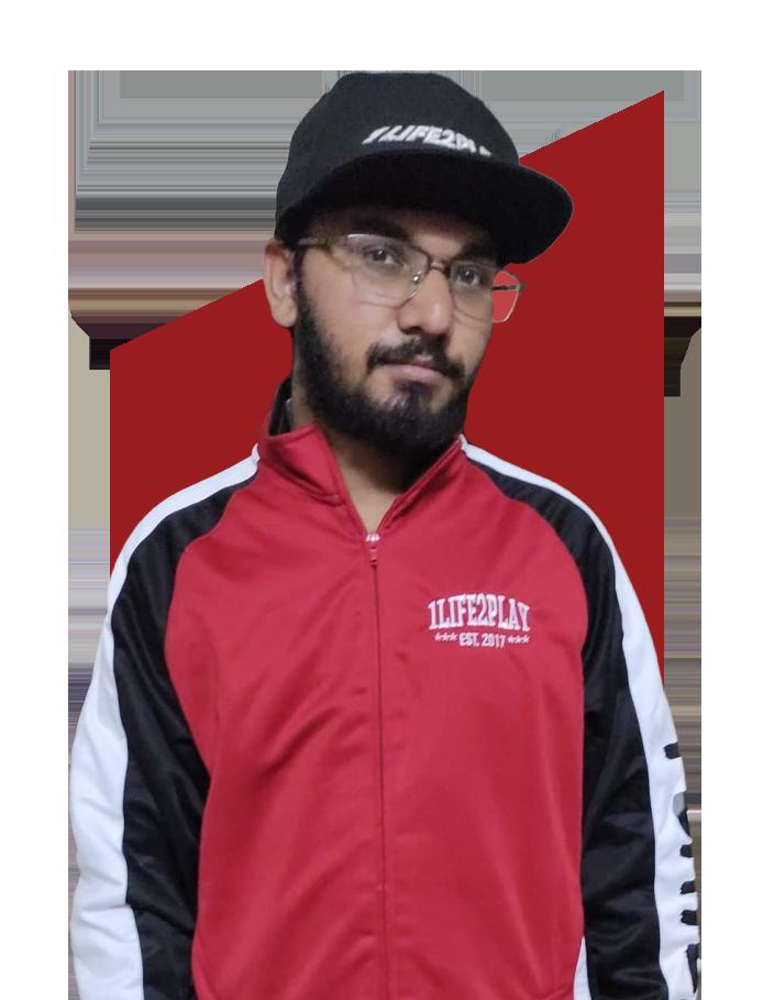 - Abubaker1 - 1Life2PlayGG Esports Team