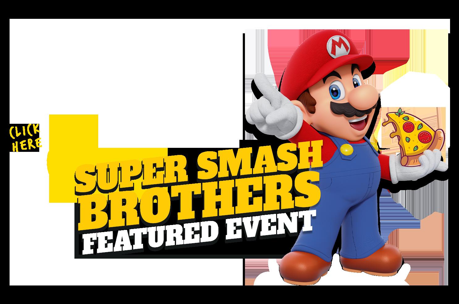 - Mario w pizza - Super Smash Bros. Ultimate