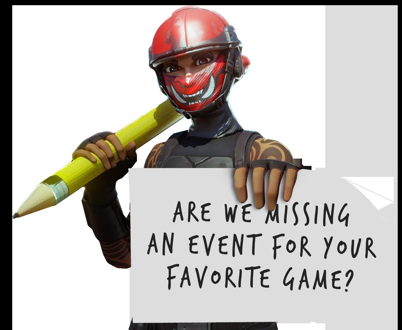 - Missing Events Fortnite - Super Smash Bros. Ultimate